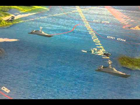 At the recent Zhuhai Airshow, an illustration demonstrated all too clearly how China would deal with an American carrier battle group.
