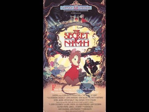 Opening To The Secret Of NIMH 1990 VHS