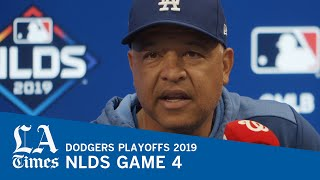 Dodgers manager Dave Roberts on how to play against Max Scherzer