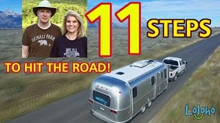 For Beginners: HOW TO BREAK DOWN AN RV CAMPSITE -- 11 STEPS!