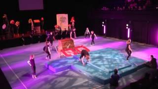 Amber Valley Gymnastics Display Team - Gymfusion October '13