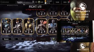MKX Klassic Scorpion Gameplay Update Max out Revenant Kung Lao 1.6.1