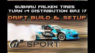 Gran Turismo Sport: Subaru BRZ '17 DRIFT BUILD & SETUP (GT Sport)