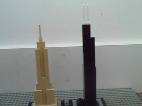 Willis Tower Lego Lego Architecture Sears Tower