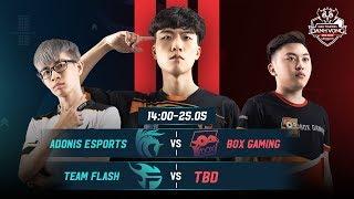 TRỰC TIẾP: Box Gaming vs Team Flash - Chung kết Đấu Trường Danh Vọng Xuân 2019