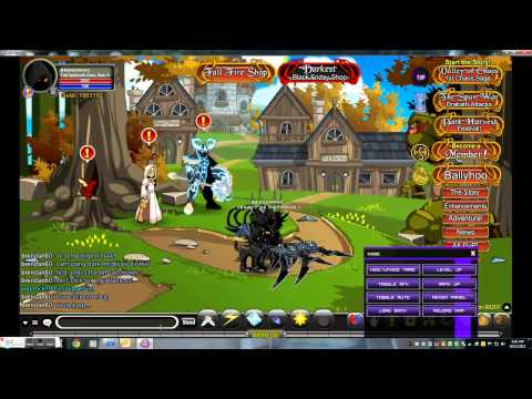 =AQW= Level Up/Rank Up Hack! (using Dark Mystic) / takes 10 seconds!