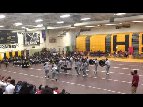 VUU DRUMLINE @ highland springs high school 2014