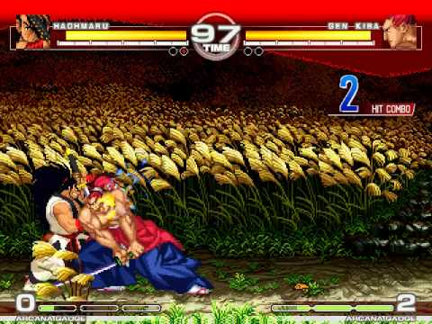 MUGEN : Ways of the Samurai Haohmaru vs Gen Kiba