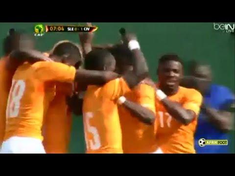 Sierra Leone vs Côte d'Ivoire (1-5) | Qualifications CAN 2015