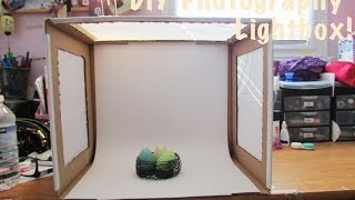 How To: DIY Photo Light Box