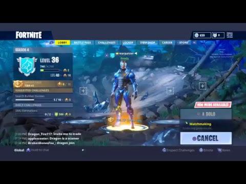 Fortnite game play new gun brust rifle