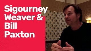 SDCC16 - Aliens - Sigourney Weaver and Bill Paxton Interview
