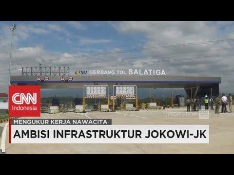 Pembangunan Infrastruktur Kabinet Kerja - 3 Tahun Jokowi-JK