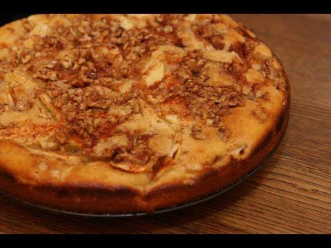 Юлия Высоцкая — Яблочный пирог с грецкими орехами