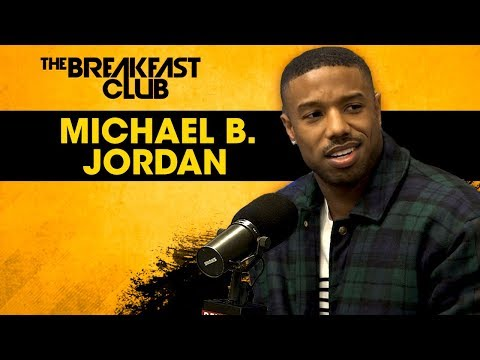 Michael B. Jordan Dodges Relationship Questions, Talks Life Post-Black Panther + More