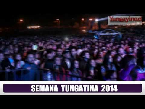 Fogata de la Amistad en Semana Yungayina 2014