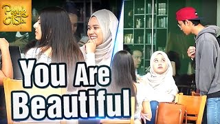 You Are Beautiful   Boy Compliments EVERY Girl   Prank Asia