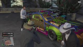 GTA 5 Online Funny Moments - Red Dead Redemption & The 6ix9inemobile!