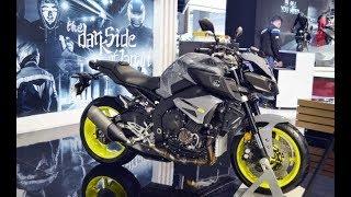 Tin nhanh 24/7 - Cận cảnh chi tiết Yamaha MT-10 2018 trình diện, giá 295 triệu đồng.