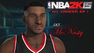 NBA 2k15 MyCareer   Tryout For The Suns   10 Day Contract   Jay McNasty