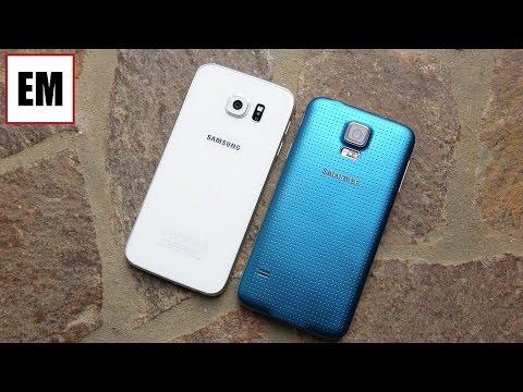 Samsung Galaxy S6 vs Galaxy S5 ita da EsperienzaMobile (4K)