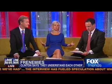Fox & Friends Calls Out CBS For Letting Obama, Clinton Claim They Were Friendly in 2008 Primaries