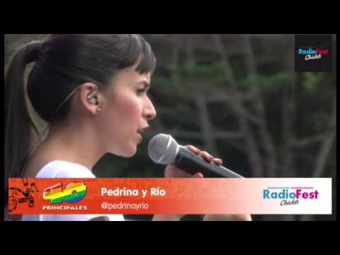 Pedrina y Rio en vivo en el Radio Fest