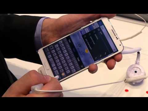 Samsung Galaxy Note 3 hands-on IFA 2013 - In-Depth Overview