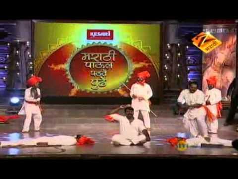 Marathi Paul Padte Pudhe Jan. 31 11 - Annabhau Sathe Lezim Dandpatta...