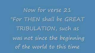 WHAT is the GREAT TRIBULATION and WHEN will it BEGIN ?
