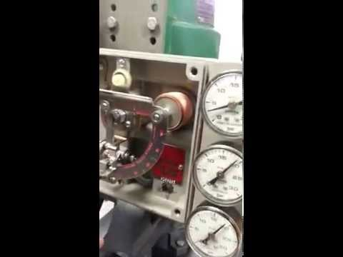 Brazosport College Control valvehow to calibrate a fisher valve part 1