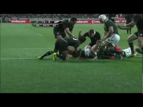 Compilation of All Black tries in the 2011 TriNations