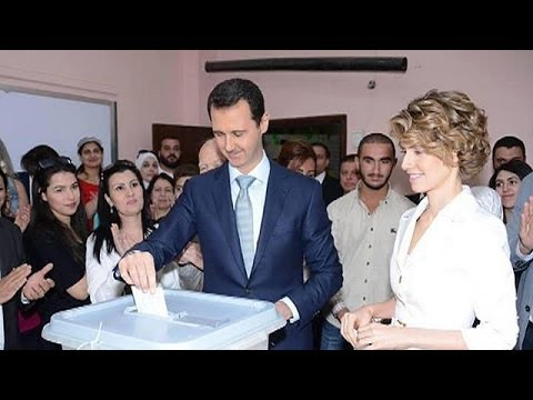 Syria election: Assad supporters confident of his extended rule