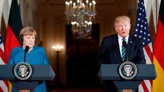 German reporter confronts Trump with pointed question on media