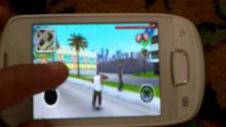 SAMSUNG GALAXY MINI GAMING~GANGSTAR WEST COAST HUSTLE~