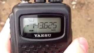 Прием МКС на Yaesu FT-60R. International Space Station (ISS) with Yaesu
