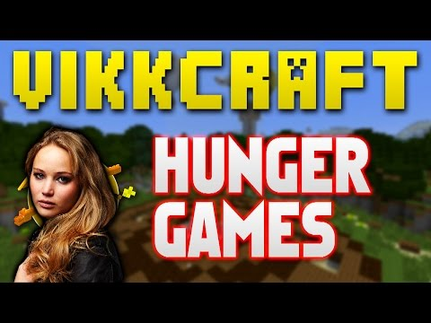 Minecraft Hunger Games #322 JENNIFER LAWRENCE with Vikkstar BajanCanadian JeromeASF