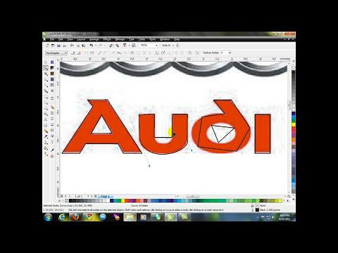 CorelDraw X4 - Logo Audi.flv
