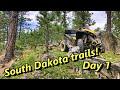 ATV Riding in South Dakota! Black hill forest! Custer peak!