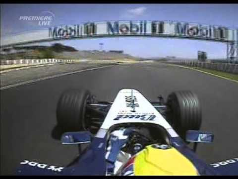 Mark Webber Formula 1 Onboard 2005 Spain