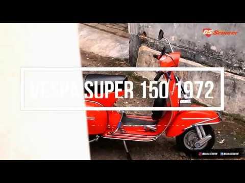 Modifikasi Vespa Super 150 1972: Kembali ke Masanya