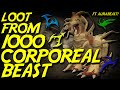Runescape - Loot From 1000 Corporeal Beast