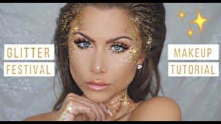 Glitter makeup tutorial Halloween costume   BeeisforBeeauty