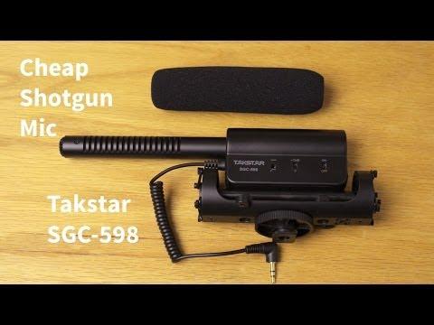 Cheap Shotgun Mic:Takstar SGC-598 Review