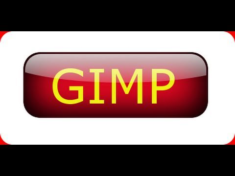 GIMP 2.6 tutorial for beginners -  Shiny Glossy Button