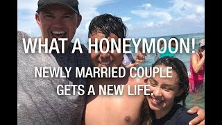 What a honeymoon ❤️ - Newly married couple gets a new life  😃😃