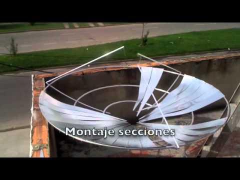 Antena Parabolica Casera
