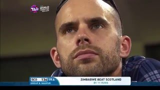 ICC #WT20 Scotland vs Zimbabwe Highlights