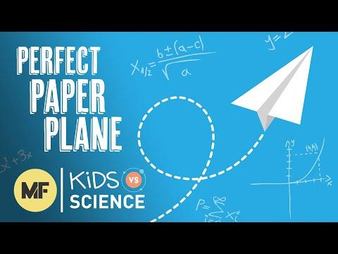 Kids Vs. Science: Making the Ultimate Paper Plane