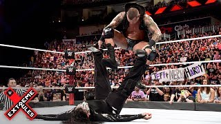Randy Orton brutally stomps on a defenseless Jeff Hardy: WWE Extreme Rules 2018 (WWE Network)